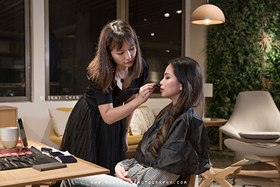 Hair and Makeup Artist (HMUA) in Singapore
