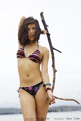 Bikini Photoshoot - Jade Anastasia Fox Lee @ Pasir Ris Park