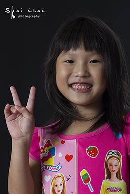 Children Photoshoot - Dchane @ Joyous Nails, Seng Kang