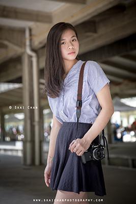 Lifestyle Photoshoot - Emilia Yoyo Ngai @ Tanjong Pagar Railway Station