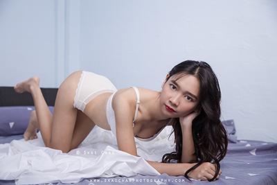 Boudoir Photoshoot - Rina @ Bedroom, Tanjong Pagar