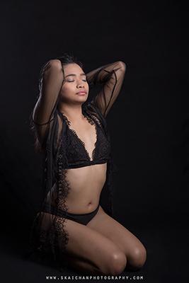 Lingerie Photoshoot - Tantiara Rosli @ Studio, Tanjong Pagar
