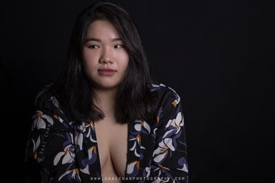 Glamour Photoshoot - Jade @ Studio, Tanjong Pagar