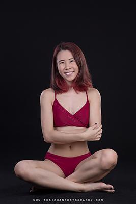 Bikini Photoshoot - Cheryl Alicia Chua @ Studio, Tanjong Pagar
